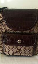 Brighton julia brown leather backpack NWT