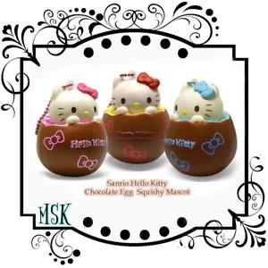 Hello Kitty Chocolate Egg Squishy series