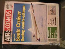 ** Air & Cosmos n°1790 X-31 / X-32 B / tir avorté du GSLV / EADS projet Makp