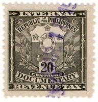 (I.B) Philippines Revenue : Documentary 20c