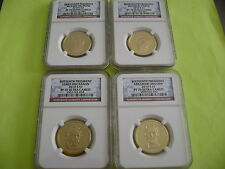 2010-S PRESIDENTIAL NGC PF70 ULTRA CAMEO 4-COIN DOLLAR PROOF SET