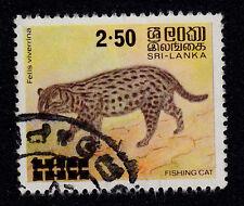 SRI LANKA SCOTT# 594  USED   ANIMAL TOPICAL