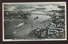 Australia New South Wales SYDNEY Harbour Aerial RP PPC