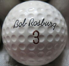 (1) BOB ROSBURG SIGNATURE LOGO GOLF BALL ( MADE IN USA CIR 1966) #3