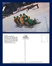 US NEW YORK LAKE PLACID WINTER OLYMPIC COURSE FOUR MAN BOBSLED FROM THE 1950'S