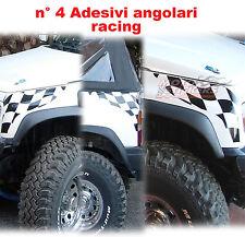 Suzuki Vitara - adesivi fuoristrada - N° 4 adesivi angolari racing - cod. ofr8