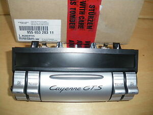 Porsche Cayenne Heater Control With GTS Script - New, RRP £505 !
