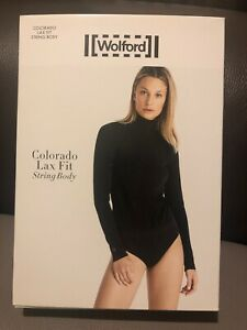 New Wolford Lax Fit Colorado String Body - Medium RRP £195 BNWT