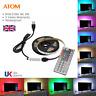 ATOM LED 5V 5050 USB LED Strip Lights TV Back Light Multi RGB Colour +Remote UK