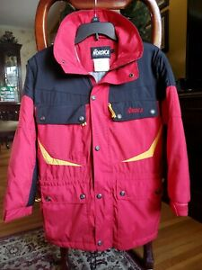 NORDICA SportSystem Red/Black/Yellow Ski Jacket Youth Size 14 EUC MUST SEE!