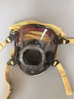Scott AV-2000 Facepiece KevlarHeadNet Firefighter SCBA Mask Size Extra Large