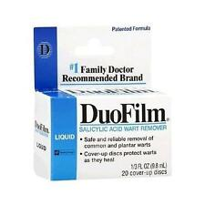 Duofilm Salicylic Acid Wart Remover Liquid, # 1 Doctor Recommended