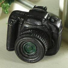 Black 'SLR' Camera, Dolls House Miniature 1.12 Scale Accessory