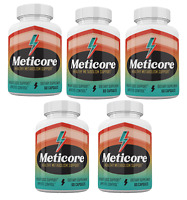 Meticore Metabolism Control Advanced Diet Pills- 5 Month Supply