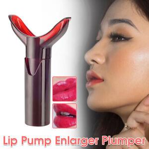Lips Enhancer Pump Enlarger Fuller Women Lip Plumper Bigger Full Suction Tool