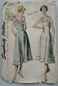 Early 1950's SLIPS with PRINCESS LINES
