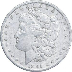 Early - 1891-O Morgan Silver Dollar - 90% US Coin *355