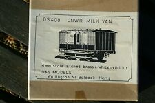 More details for d&s 408 lnwr milk van brass & white metal kit