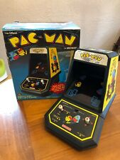 Vintage 1981 Coleco Pac-Man TableTop Mini Arcade with Box Working Condition!!