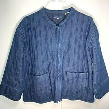 Levi's women's Made & Crafted Quilted Denim Jacket size Large retail $298 NWT