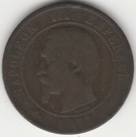 1857 MA France 10 Centimes | European Coins | Pennies2Pounds