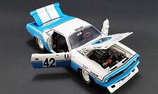 Plymouth HEMI Cuda BARRACUDA trans am #42 Chemin 1970 RACING Muscle ACME 1:18