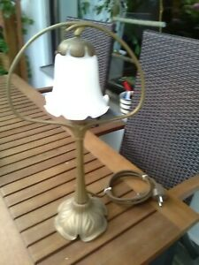 Alte Tischlampe Jugendstil,