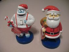 Bumble The Abominable Snowman & Santa Nutcracker From Rudolph The Reindeer Set