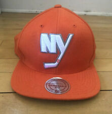 Men's CCM New York Islanders Orange NHL Hockey Cap Hat Snap Back