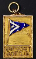 ND Gold 27x38mm | 1/4 oz (.25 oz) AGW | Nantucket Yacht Club Championship Medal