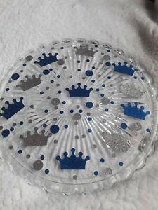 Little Prince Baby Shower Confetti; Handmade Confetti; Welcome Little Price...