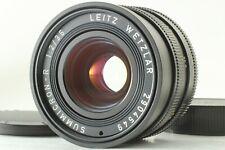 【Near Mint+++】 Leica Leitz Summicron-R 35mm F/2 3-cam Lens for Leica R Japan 505