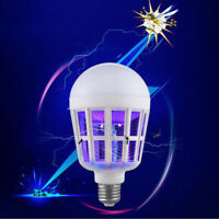 LED Insect Zappers Light Bulb Mosquito Fly Insect Moths Killer Lamp Trap Zapper/