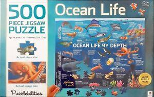 500 Piece Puzzlebilities Jigsaw Puzzle - Ocean Life