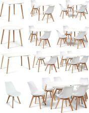 Toulouse Eiffel Style White Dining Sets Designer Tables & Dining Chairs Art Deco