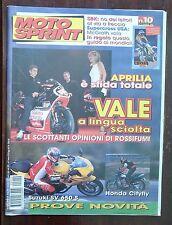 34947 Motosprint a. XXIV n. 10 1999 - Prova Suzuki SV 650 S e Honda Cityfly