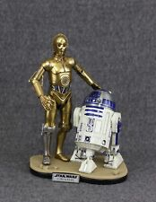 DISPLAY STAND for Hot Toys Star Wars 1/6 R2-D2 and Sideshow C-3PO