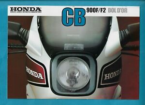 HONDA CB900F/F2 BOL D'OR MOTORCYCLES 4 PAGE BROCHURE