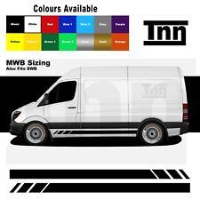Side Stickers Stripes Graphics Decals For Mercedes Sprinter Camper Van Motorhome