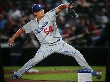 Dodgers Javy Guerra Signed Large 16X20 MLB Photo PSA/DNA COA  White Sox
