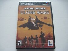 Star Wars: The Clone Wars for Sony PS2 PlayStation 2, 2002 New Factory Sealed