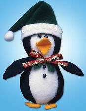 Felt Embroidery Kit ~ Design Works Cute Penguin Christmas Tree Ornament #DW574