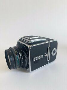 Hasselblad 500C/M 120mm Medium Format Film Camera with 80mm Lens + EXTRAS