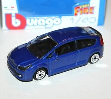 Burago - CITROEN C4 (Blue) 2014 - 'Street Fire' Model Scale 1:43