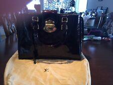Gorgeous Louis Vuitton Amarante Monogram Vernis Melrose Avenue Top Handle Bag