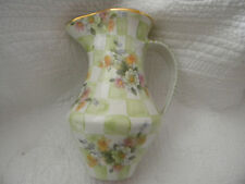 Mackenzie Childs Vintage Sweet Pea 36 ounce Pitcher/BEAUTIFUL & EXCELLENT
