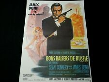 sean connery BONS BAISERS DE RUSSIE  affiche cinema 007 james bond
