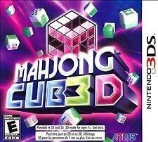 Mahjong CUB3D - Nintendo 3DS USED
