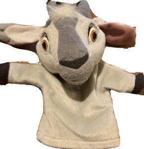 Disney The Hunchback Of Notre Dame DJALI GOAT HAND PUPPET Plush STUFFED ANIMAL