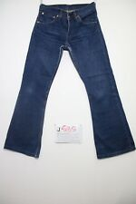Levis 516 bootcut (Cod.J585) Tg.42 W28 L34 jeans usato accorciato donna